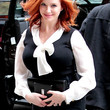 Christina Hendricks Clothes - Button Down Shirt