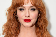 Christina Hendricks Shoulder Length Hairstyles
