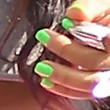 Christina Milian Bright Nail Polish