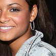 Christina Milian Sterling Hoops