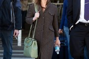 Christina Ricci Wool Coat