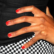 Ciara Red Nail Polish
