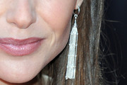 Claire Forlani Sterling Dangle Earrings