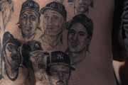 Claude Godfrey Portrait Tattoo