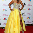 Claudia Jordan Clothes - Evening Dress