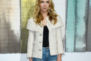 Clemence Poesy Tweed Jacket