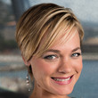 Crystal Allen Hair - Short cut with bangs