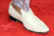 RuPaul Leather Slip On Shoes