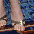 Dakota Fanning Shoes - Slide Sandals