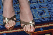 Dakota Fanning Slide Sandals