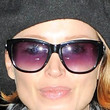 Dannii Minogue Oval Sunglasses