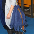 Dannii Minogue Tasseled Shoulder Bag