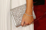 Delta Goodrem Gemstone Inlaid Clutch