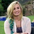 Demi Lovato Hair - Long Braided Hairstyle