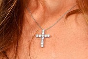 Denise Richards Cross Pendant