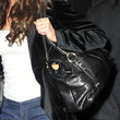 Denise Richards Leather Shoulder Bag