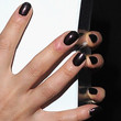 Diane Kruger Beauty - Dark Nail Polish