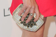 Diane Kruger Gemstone Inlaid Clutch