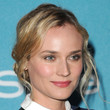 Diane Kruger Twisted Bun
