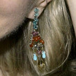 Diane Sawyer Jewelry - Gemstone Chandelier Earrings