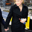 Diane Sawyer Clothes - Pea Coat