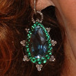 Diane von Furstenberg Dangling Gemstone Earrings