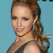 Dianna Agron Hair - Ponytail