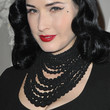 Dita Von Teese Jewelry - Black Statement Necklace
