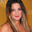 Drew Barrymore Hair - Long Center Part
