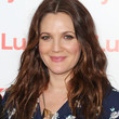 Drew Barrymore Long Wavy Cut