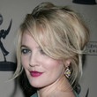 Drew Barrymore Hair - Messy Updo