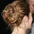 Drew Barrymore Hair - Twisted Bun