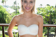 Emma Roberts Crop Top