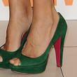 Elena Anaya Shoes - Peep Toe Pumps