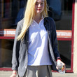 Elle Fanning Clothes - Button Down Shirt