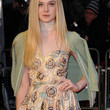 Elle Fanning Clothes - Cape