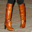Ellen Pompeo Knee High Boots