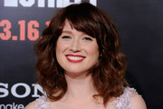 Ellie Kemper  Long Wavy Cut with Bangs