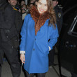 Emilia Clarke Clothes - Wool Coat
