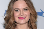 Emily Deschanel Shoulder Length Hairstyles