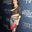 Emily Mortimer Clothes - Print Dress