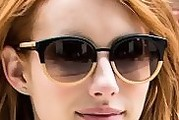 Emma Roberts Novelty Sunglasses