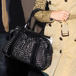 Emma Watson Handbags - Studded Shoulder Bag