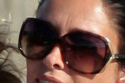 Erica Packer Square Sunglasses