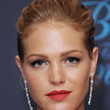 Erin Heatherton Hair - Bobby Pinned updo