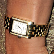 Eva la Rue Gold Bracelet Watch