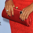 Eva la Rue Satin Clutch