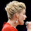 Faith Hill Loose Bun