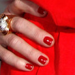 Faith Hill Red Nail Polish
