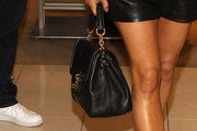 Fergie Leather Shoulder Bag